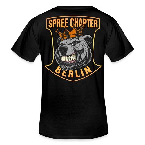 SCB Bärenkönig + 23 - Klassisches Männer-T-Shirt mit V-Ausschnitt