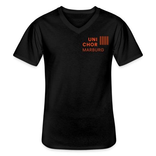 Tenor 2 - Klassisches Männer-T-Shirt mit V-Ausschnitt