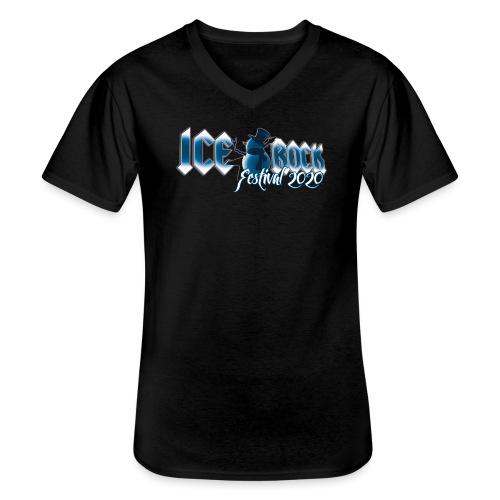 Festival Design 2020 - Klassisches Männer-T-Shirt mit V-Ausschnitt