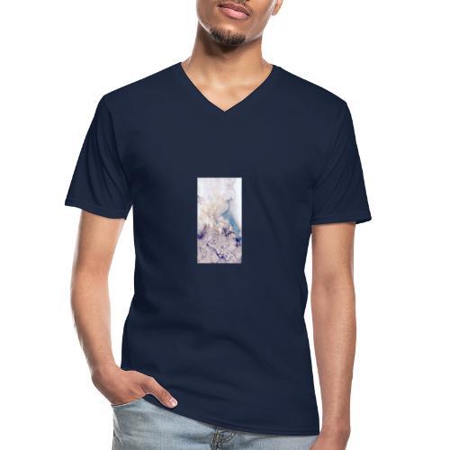 cbbe77bace48f38f4b76a3517b0a33aa - Maglietta da uomo classica con scollo a V