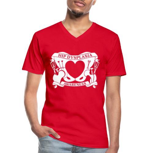 Hip Dysplasia Awareness - Men's V-Neck T-Shirt