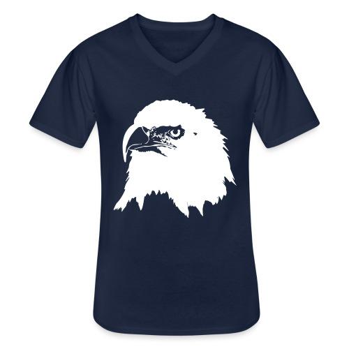 Steinadler - Klassisches Männer-T-Shirt mit V-Ausschnitt