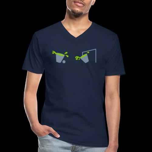 Allez les verts - T-shirt classique col V Homme