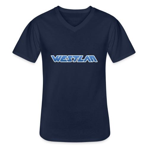 WestLAN Logo - Men's V-Neck T-Shirt