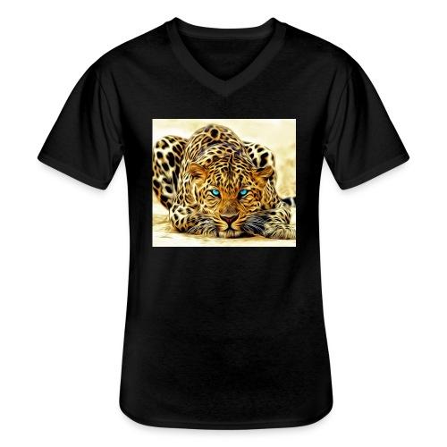 IL SIMBOLO DEL CANALE - Maglietta da uomo classica con scollo a V