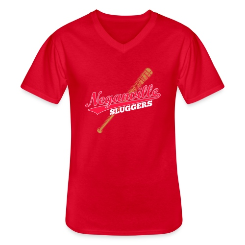 Neganville Sluggers - Men's V-Neck T-Shirt