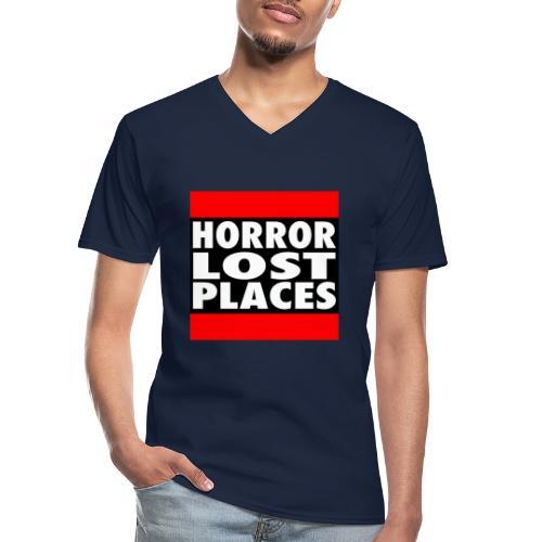 Horror Lost Places - Klassisches Männer-T-Shirt mit V-Ausschnitt