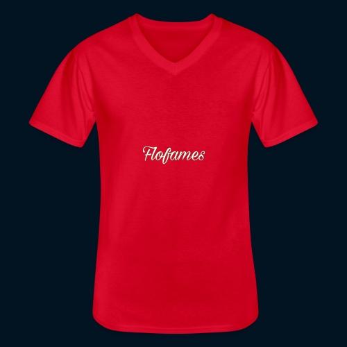 camicia di flofames - Maglietta da uomo classica con scollo a V