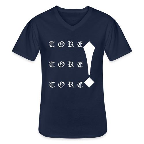 Tore! Tore! Tore! - Klassisches Männer-T-Shirt mit V-Ausschnitt