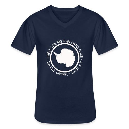 Great God! - Men's V-Neck T-Shirt