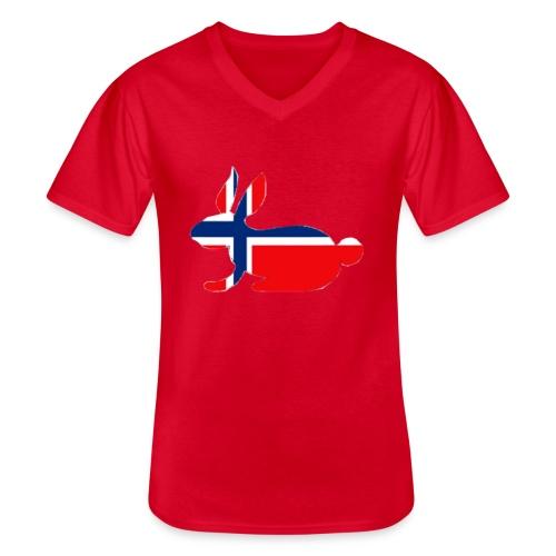 norwegian bunny - Men's V-Neck T-Shirt