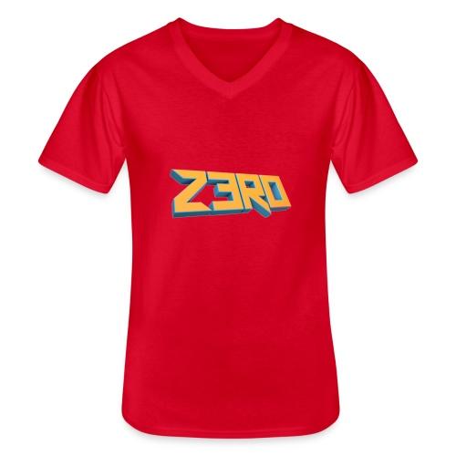 The Z3R0 Shirt - Men's V-Neck T-Shirt