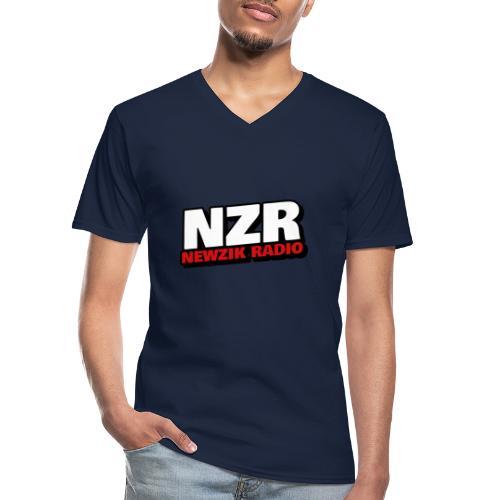NZR - T-shirt classique col V Homme