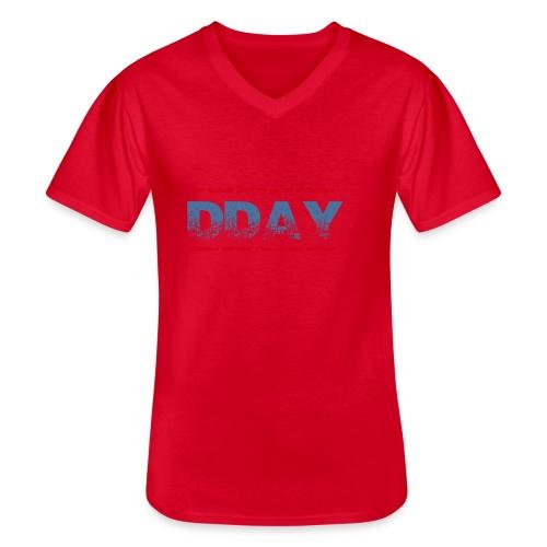 DDAY Normandie - T-shirt classique col V Homme