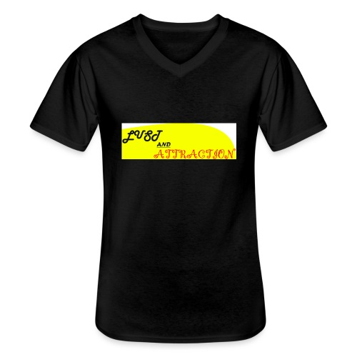 lust ans attraction - Men's V-Neck T-Shirt