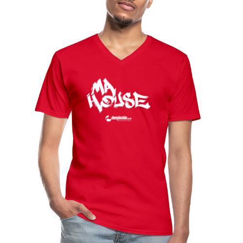 My House * by DEEPINSIDE - Men's V-Neck T-Shirt