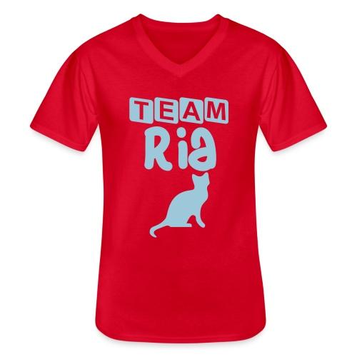 Team Ria - Men's V-Neck T-Shirt