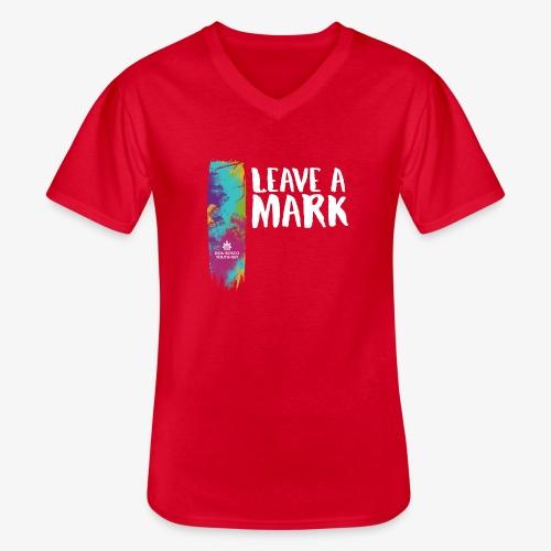 Leave a mark - Men's V-Neck T-Shirt
