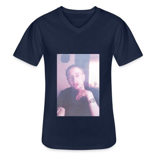 The 80's - Klassisches Männer-T-Shirt mit V-Ausschnitt