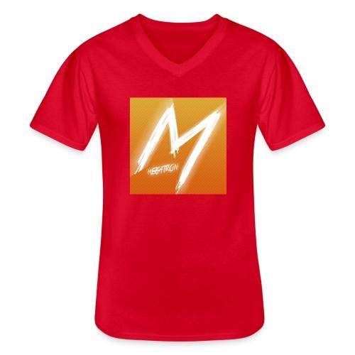 MegaTaza - Men's V-Neck T-Shirt