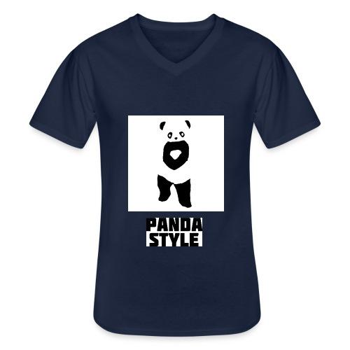 fffwfeewfefr jpg - Klassisk herre T-shirt med V-udskæring