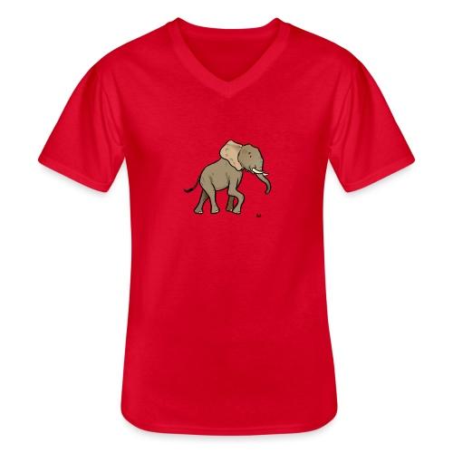 African elephant - Men's V-Neck T-Shirt