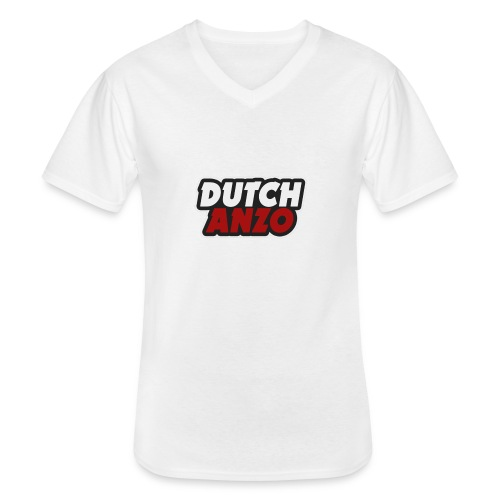 dutchanzo - Klassiek mannen T-shirt met V-hals