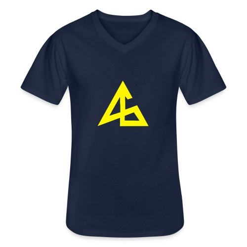 Andemic - T-shirt classique col V Homme