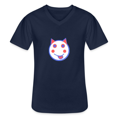 Red White And Blue - Alf Da Cat - Men's V-Neck T-Shirt