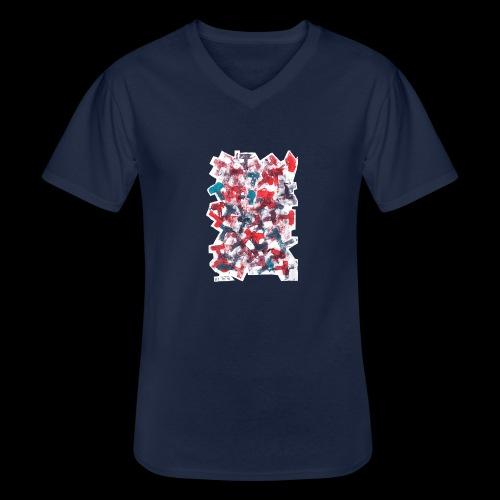 Color T BY TAiTO - Klassinen miesten t-paita v-pääntiellä
