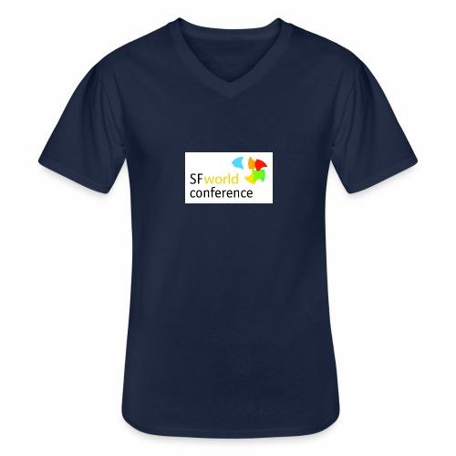 SFworldconference T-Shirts - Klassisches Männer-T-Shirt mit V-Ausschnitt