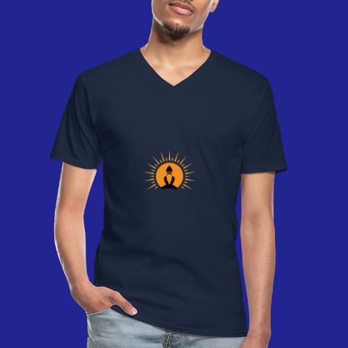 Guramylyfe logo no text black - Men's V-Neck T-Shirt