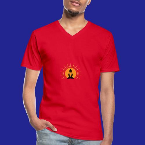 Guramylife logo black - Men's V-Neck T-Shirt