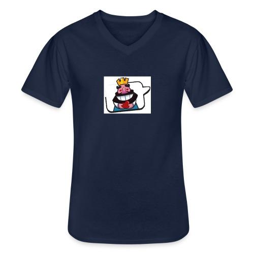 Cartoon - Maglietta da uomo classica con scollo a V
