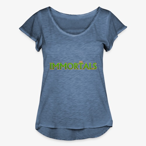 Immortals - Women's Ruffle T-Shirt