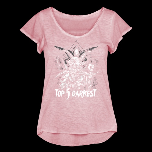 Top 5 Darkest - Women's Ruffle T-Shirt