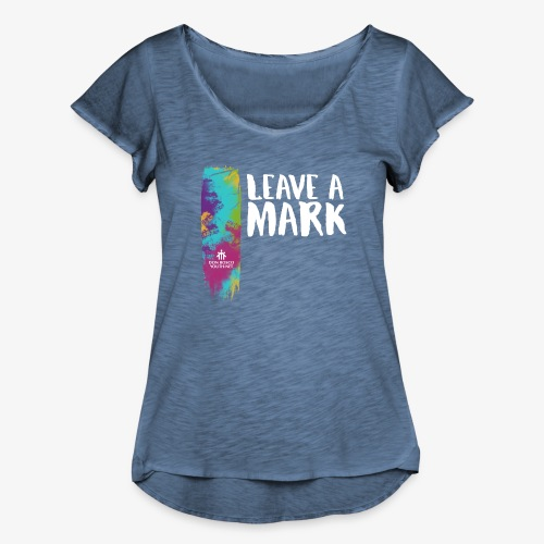 Leave a mark - Women's Ruffle T-Shirt