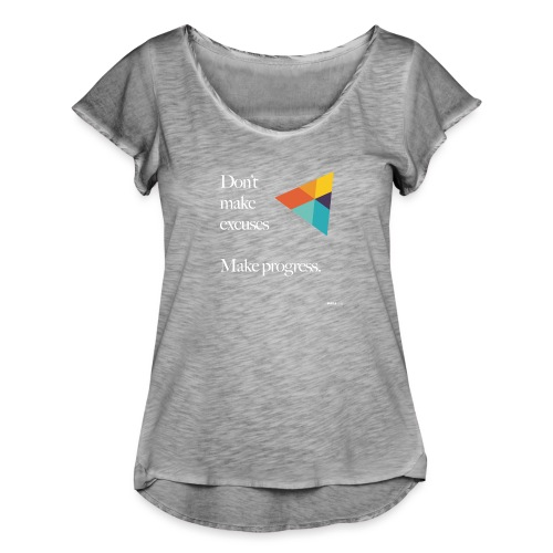 Dont Make Excuses T Shirt - Women's Ruffle T-Shirt