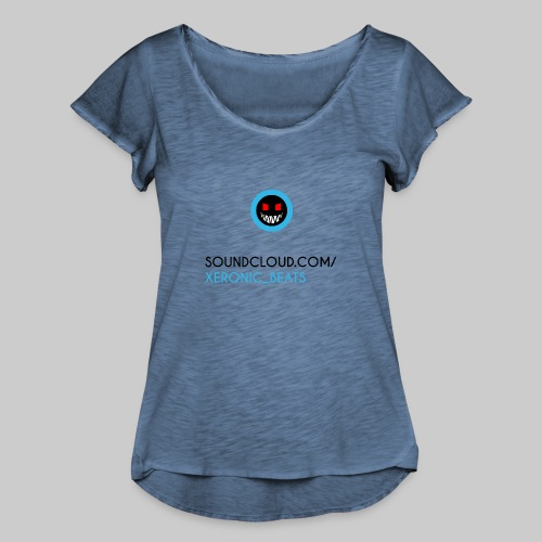 XERONIC LOGO - Women's Ruffle T-Shirt