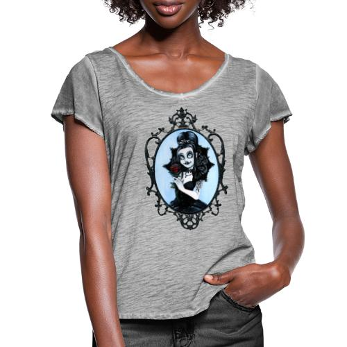 Model of the Year 2020 Lilith LaVey - Women's Ruffle T-Shirt