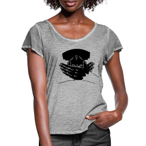 Give them the words - Women's Ruffle T-Shirt