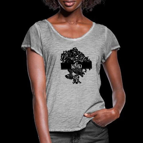KCD Small Print - Women's Ruffle T-Shirt