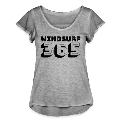 Windsurfing 365 - Women's Ruffle T-Shirt