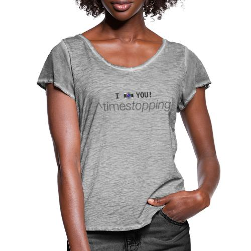 I (photo) you! - Women's Ruffle T-Shirt