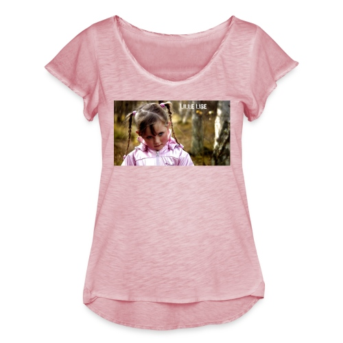Lille Lise Picture - Women's Ruffle T-Shirt