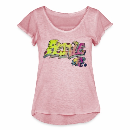 ALIVE TM Collab - Women's Ruffle T-Shirt