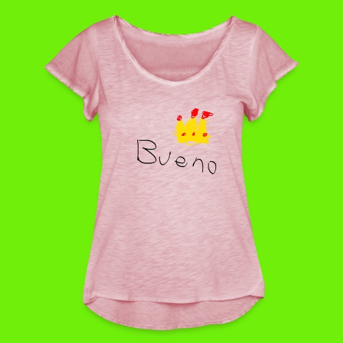 King Bueno Classic Merch - Women's Ruffle T-Shirt