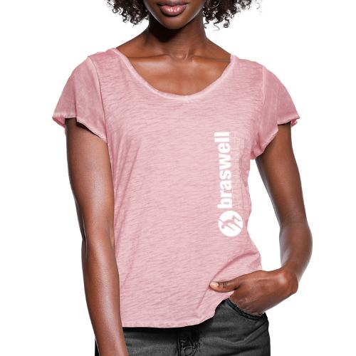 Braswell Arts Center - Women's Ruffle T-Shirt