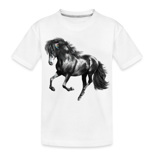 Indian Horse - Teenager Premium Bio T-Shirt