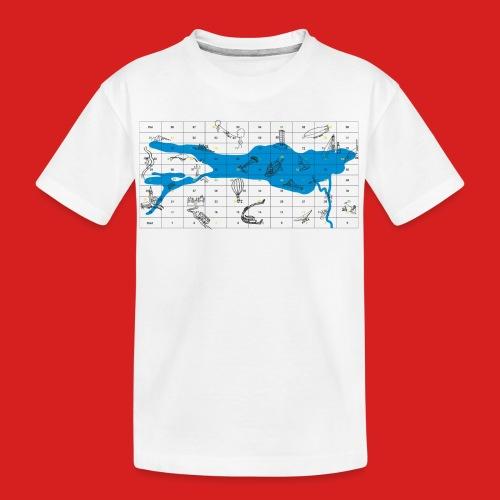 Bodensee Leiterlispiel - Teenager Premium Bio T-Shirt